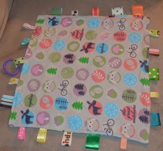 The Great Outdoors Baby Ribbon Blanket - Texture Blanket - Security Blanket - Flannel, Minky and Ribbons Different Textures, Security Blanket, Minky Fabric, Grosgrain Ribbon, The Great Outdoors, Ribbons, Flannel, Creativity, Outdoor Blanket