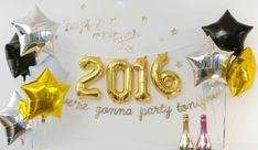 2016年ハッピーニューカウントダウンパーティー|1歳の誕生日・ファーストバースデーのギフトに最適、おむつケーキ販売のCandyChouChou