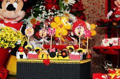 decoração de Festas Infantis personalizadas kika bernardes atelie | Jardim da Minnie