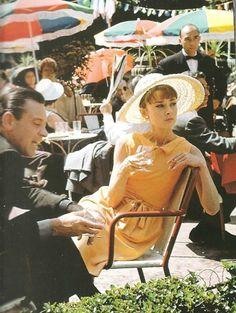 mimbeau: Audrey Hepburn and William Holden Paris 1964 Audrey Hepburn Movies, Audrey Hepburn Born, Golden Age Of Hollywood, Vintage Hollywood, Isnt She Lovely, She Movie, British Actresses, Movie Stars, My Idol