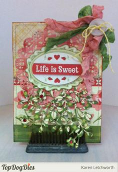 It's important to take the time to cherish and celebrate the sweet side of life. This card is the perfect way to encourage that.