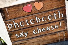 Create a cute photo booth sign to add a little extra touch Event Photo Booth, Wedding Photo Booth, Photo Booth Props, Wedding Photos, Photo Booths, Wedding Events, Our Wedding, Dream Wedding, Wedding Ideas