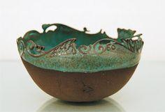 Sarah Malone Ceramics: Earthenware Cups...Love this!