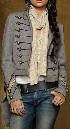 Love this military style Ralph Lauren jacket!