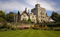 Hatley Castle on Vancouver Island near Victoria
