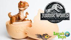 Jurassic World Hatch N Play Dino T Rex Egg / Baby T-Rex hatching from egg Hatching Dinosaur Egg, Dinosaur Eggs, Egg Baby, Eggs For Baby, Jurassic World, T Rex, Dinosaurs, Animation, Make It Yourself