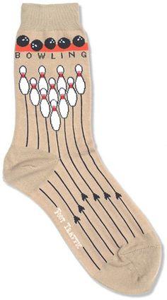 The Joy of Socks - Bowling Socks (Women's), $7.50 (http://www.joyofsocks.com/bowling-socks-womens/?page_context=category