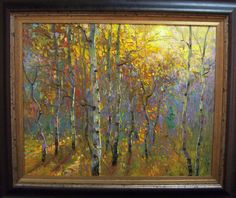 Morning Glow, Oil on Canvas by Dean Bradshaw for a Scottsdale art gallery