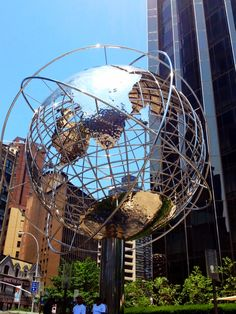 Columbus circle globe #nyc