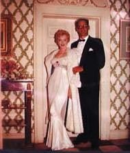 """July 24th 1956 Terence Rattigan (author of the play """"The Sleeping Prince"""")  gave a ball in Marilyn's honor, in Little Court, his Surrey country house. The couple danced cheek to cheek , holding tightly each other, under the eye of everybody."""