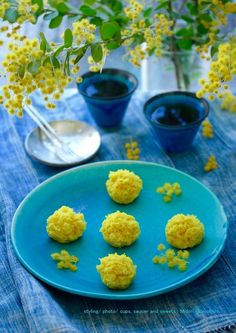 Japanese Sweets, Japanese Cake, Blue Dishes, Food Painting, Culinary Arts, High Tea, Food Pictures, Cooking, Ethnic Recipes