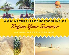Summer is pretty much here - how will you spend it? Stuck indoors working? Or is it time for a change? Time to have your cake AND eat it too? You deserve the best of both worlds! www.NaturalProductsOnline.ca