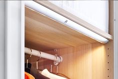 wardrobe lighting - Google Search