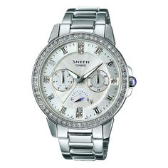 b473553794e Casio Sheen Damklocka SHE-3023D-7AER Most Popular Watches
