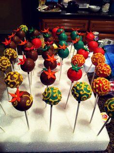 Moroccan Cake Pops