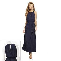 Jennifer Lopez Satin Maxi Dress