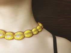 Egypt wire crochet necklace   Copper necklace   Wire jewelry handmade   crochet jewelry   lamella  