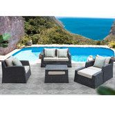 Found it at Wayfair - Biscayne 5 Piece Deep Seating Group with Cushion
