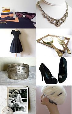 Vintage Glamour  --Pinned with TreasuryPin.com
