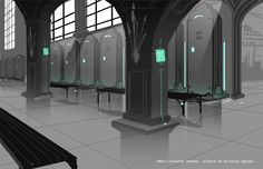 RWBY - Beacon Armory concept art Background Drawing, Background Images, Beacon Academy, Beacon Tower, Grayscale Image, Rwby Characters, Rwby Comic, Rwby Anime, Rooster Teeth