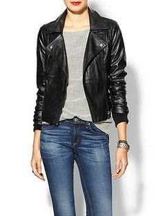 Ark & Co. Vegan Leather Moto Jacket | Piperlime  Yes please....