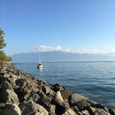 Geneva Lake ❤️ Lausanne, Geneva, Cn Tower, Building, Travel, Viajes, Buildings, Trips, Traveling