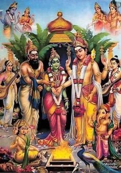 Shiva Parvati Images, Shiva Shakti, Lord Murugan Wallpapers, Saraswati Goddess, Lord Ganesha Paintings, Lord Shiva Family, Tanjore Painting, Om Namah Shivaya, Hindu Deities