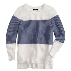 Sailor-striped sweater : Pullovers | J.Crew