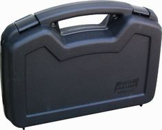"""MTM Single Handgun Case for up to 6-Inch Revolver (Black) by MTM. $12.25. This roomier pistol case is for automatics and scoped revolvers with barrels up to 6"""". There is also room for a trigger lock (not included) and the case is pad lockable."""