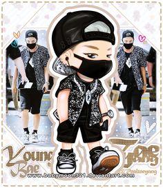 Taeyang #fanart #bigbang #airportfashion