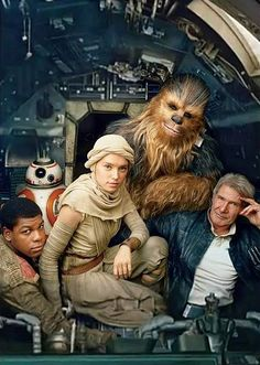 Star Wars Episode VII: The Force Awakens... I love this..