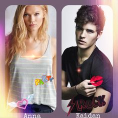 My dream cast of Anna and Kaidan. Image made by me. #WendyHiggins #SweetEvil #SweetPeril #SweetReckoning #AnnaWhitt #KaidanRowe