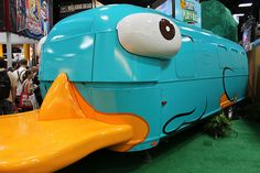 Perry the platypus RV