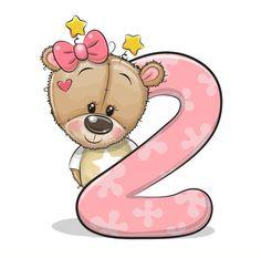 Teddy Bear Cartoon, Cute Cartoon Animals, Cute Cartoon Pictures, Cartoon Pics, Tatty Teddy, Scenery Drawing For Kids, Birthday Cartoon, Bear Girl, Baby Clip Art