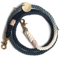 Found My Animal creates incredible nautical-inspired leashes by hand in Brooklyn. The marine-grade materials used in production age beautifully, and each product is individually numbered with a FOUND tag to remind you of how special your product is and how many animals have received help from this philanthropic company.