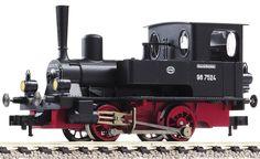 Fleischmann 400001 - Locomotiva a vapore BR 98.75 DRG  scala h0 modellismo ferroviario plastico del treno