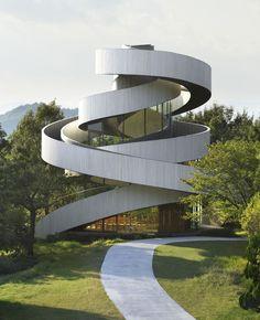 The Ribbon Chapel By NAP Architects