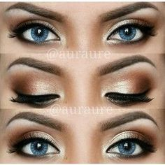 12 Easy Ideas For Prom Makeup For Blue Eyes Gurl