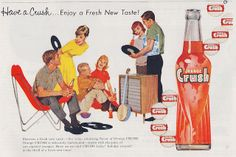 Vintage Orange Crush Bottles | Recent Photos The Commons Getty Collection Galleries World Map App ...