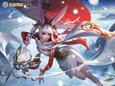 Anime Angel Girl, Mobile Legends, Mobile Game, Japan, Character, Games, Chinese Art, Sleeves, Gaming