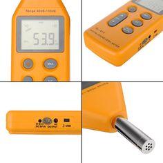 New Digital Sound Noise Level Meter Tester Decibel Pressure