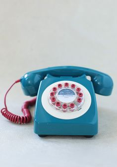 Aretha Rotary Phone at #Ruche @Ruche
