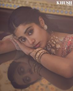 """Khush Wedding Magazine on Instagram: """"Janhvi Kapoor (@janhvikapoor) transforms into a modern day princess bride for #KhushWedding 8th anniversary issue.   Click on the link in…"""" Bollywood Fashion, Bollywood Actress, Indian Photography, Indian Celebrities, South Indian Actress, Indian Actresses, Princesses, Indian Fashion, Bride"""