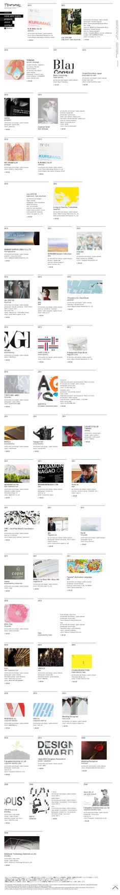 The website 'http://www.terminaldesign.jp/#projects' courtesy of @Pinstamatic (http://pinstamatic.com)