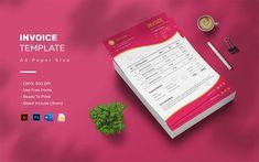Pet Shop - Invoice Template A4 Paper, Paper Size, Invoice Template, Corporate Identity, Print Templates, Pet Shop, Texts, Color Schemes, Budgeting