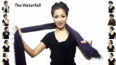 25 façons de porter une écharpe
