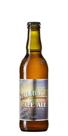 Ålands Bryggeri Stallhagen Pale Ale 6,0% pullo (Teron tuliaisia)
