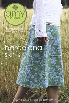 Amy Butler Barcelona Skirt Pattern from @fabricdotcom  <a href=http://d2d00szk9na1qq.cloudfront.net/Images/PDF/ABP-030.pdf>Click here for pattern back.</a>