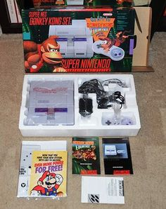 nintendo, games, video games, mario, donkey kong, 1990s, 90s