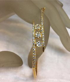 Gold bracelets | bracelets gold for woman | bracelets designs in gold | bracelets designs in 1 gram gold | gold bracelets 1 Gram Gold Jewellery, Gold Jewelry, Bangles, Gold Bracelets, Bracelet Designs, Indian Jewelry, Drop Earrings, Heels, Beaded Bracelets